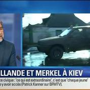 BFM Story: Hollande et Merkel se rendent à Kiev pour présenter un plan de paix