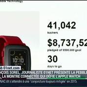 Le test du Lab 01net.com: La nouvelle montre connectée Pebble Time