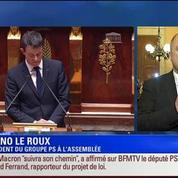 BFM Story: Édition spéciale Loi Macron (8/9): Le recours à l'engagement de la responsabilité du gouvernement s'imposait: Bruno Le Roux