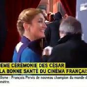 César 2015 : Julie Gayet sur le tapis rouge