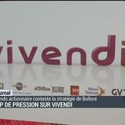 Coup de pression sur Vivendi
