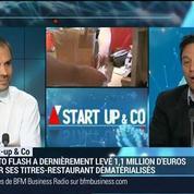 Start-up & Co: Resto Flash, l'appli qui virtualise et révolutionne le ticket restaurant