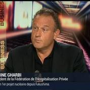 Lamine Gharbi, président de la Fédération de l'Hospitalisation Privée (1/3)