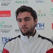 Tennis / Coupe Davis Simon : Ça fait du bien que Monfils soit là