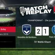 Bordeaux-PSG (3-2) : le Goal-Replay avec le son RMC Sport