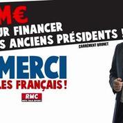 Merci les Français – 6M€ pour financer nos anciens présidents !