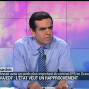 Hollande veut rapprocher Areva et EDF