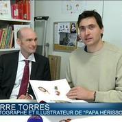 Papa hérisson rentrera-t-il à la maison?: deux ex-otages Français sortent un livre pour enfants