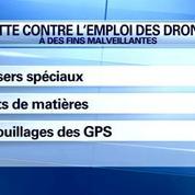 Les pistes pour contrôler et surveiller les drones