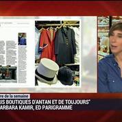 Le livre de la semaine: Paris, boutiques d'antan et de toujours (4/6)