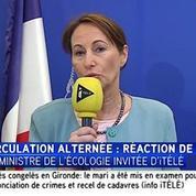 Ségolène Royal : « Je ne peux pas agir sous le coup de l'émotionnel démagogique »