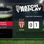 Monaco-Arsenal (0-2) : le Goal-Replay avec le son RMC Sport