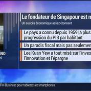 Marc Fiorentino: Décès de Lee Kuan Yew, le fondateur de Singapour