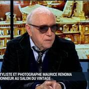 Salon du Vintage: Coup de projecteur sur Maurice Renoma: Laurent Journo, Maurice Renoma et Gabriel Bauret (2/6) –