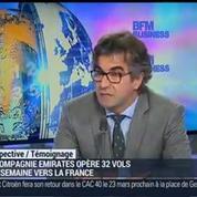 La compagnie aérienne Emirates crée beaucoup d'emplois en France: Thierry de Bailleul