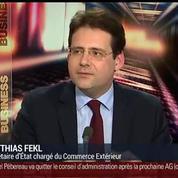 Matthias Fekl, secrétaire d'État chargé du Commerce extérieur (3/3)
