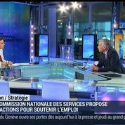 Comment le secteur des services peut-il assurer la croissance économique ?: Christian Nibourel