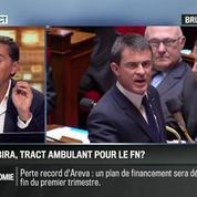 Brunet & Neumann : Christiane Taubira, tract ambulant pour le FN ?