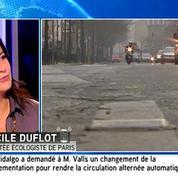 Cécile Duflot sur la circulation alternée : « Il est dommage que l'on ait attendu autant de temps »