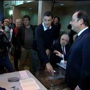 Départementales: François Hollande a voté à Tulle, en Corrèze