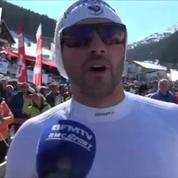 Premier podium en Coupe du monde pour Brice Roger