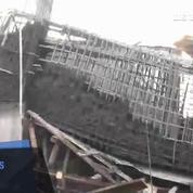 Effondrement d'une usine au Bangladesh