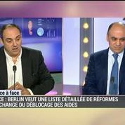 La minute d'Olivier Delamarche : La Grèce, un blessé que l'on regarde se vider de son sang