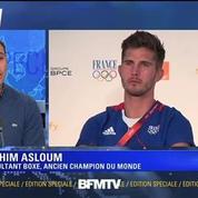 L'émotion de Brahim Aslou en évoquant le souvenir d'Alexis Vastine