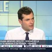 ETF: Les investisseurs ont priviligié les actions en février: Benoit Sorel –