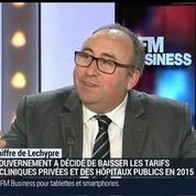 Lamine Gharbi, président de la Fédération de l'Hospitalisation Privée (2/3)