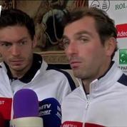 La paire Benneteau-Mahut, une première en Coupe Davis