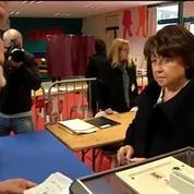 Départementales 2015 : Martine Aubry a voté à Lille