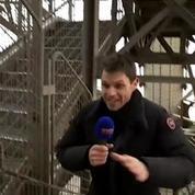 La verticale de la Tour Eiffel: un contre-la-montre en haute altitude