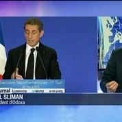 Départementales : Nicolas Sarkozy, grand gagnant de ce 1er tour