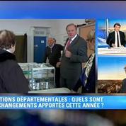 Elections départementales: le politologue Thomas Guénolé en rappelle les enjeux