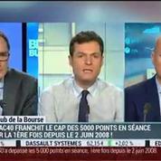 Le Club de la Bourse: Wilfrid Galand, Franck Dixmier et Jérôme Vinerier –