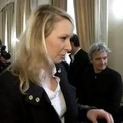Départementales 2015: Marion Maréchal-Le Pen a voté à Carpentras