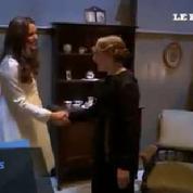 Kate Middleton sur le tournage de la série