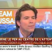 «Marine Le Pen est une intégriste» selon Geoffroy Didier