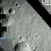 L'alunissage de la sonde chinoise filmé par caméra embarquée
