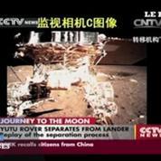 Le robot lunaire chinois observé par la Nasa