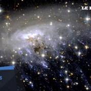 Une galaxie crache ses tripes sous l'œil du télescope Hubble