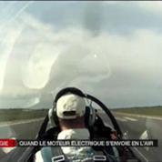 1er vol pour l'e-fan, le prototype d'avion électrique d'Airbus