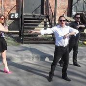 JM Généreux danse sur Psy à Montréal