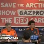 La conf' du Real Madrid perturbée par Greenpeace
