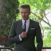 David Beckham lance son équipe de football à Miami
