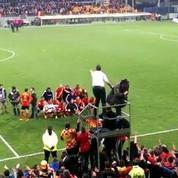 Football: Formidable communion à Lens après un match