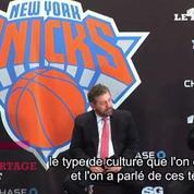Basket: Phil Jackson, nouveau patron des New York Knicks: «Je suis trop boiteux pour être coach»