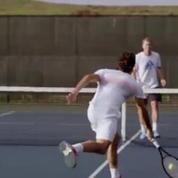 Dans la peau de Roger Federer avec les google glass