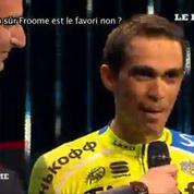 Contador : «Froome est le favori de ce Tour de France»